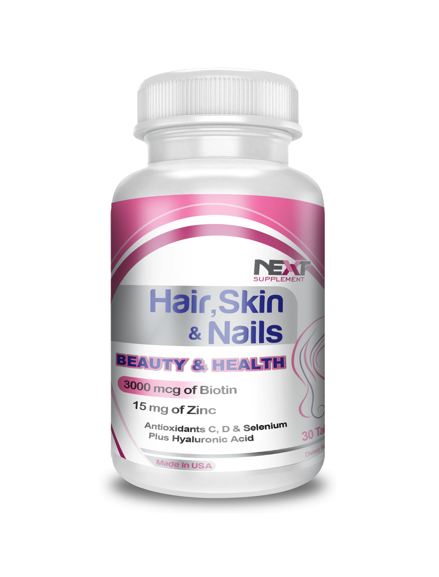 NextSupplement-Hair-Skin-Nails- هیراسکین نیلز
